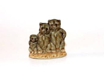 WADE Three Bears Wade Nursery Rhyme Figurine