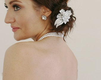 Modern Wedding Bridal Hair Comb Headpiece Big Sur Wedding Diamante Hair Comb Cocktail Hair Accessories