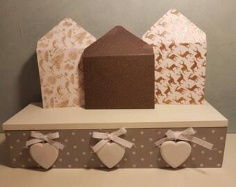 3 sparkling gift envelopes