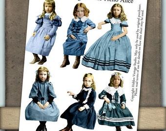 Hello Alice Digital Collage Sheet