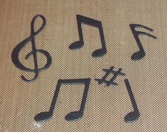 Musical Motifs 3 sets of 6