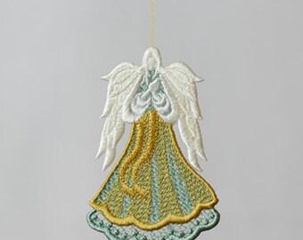 Angel of Light II Lace Orniment/Decore - I will custom make this