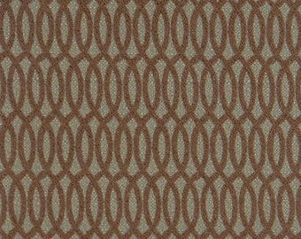 Olive Green Brown Velvet Upholstery Fabric