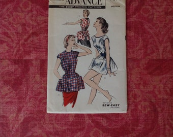 Vintage Advance 1960s Sewing Pattern