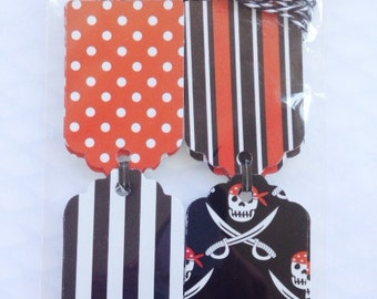 Pirate Gift Tags ( Set of 24)