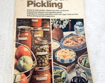 Soft cover cookbook etsy all about pickling 1st printing of ortho soft cover book forumfinder Gallery