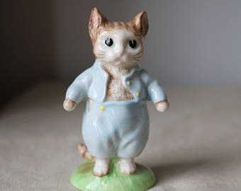 Beatrix Potter Tom Kitten by Royal Albert  Immaculate condition