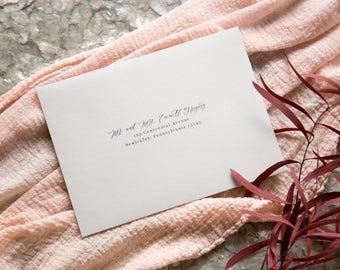 Recipient Addressing - Wedding Invitation Address - Printed Addresses - Guest Addressing - Printed Envelopes
