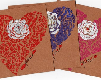 Cystic Fibrosis 65 Roses Greeting cards