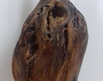 Wood Sculpture, figurine, Spalted wood, Wood Burl, melting wood