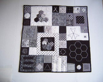 All Black & White Wall Hanging