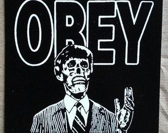 They Live STICKER - vinyl HORROR / Sci-Fi John Carpenter Roddy Piper cult OBEY