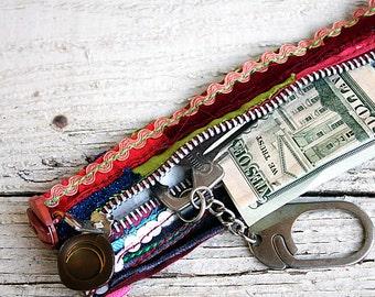 Reserved - Gypsy with a Twist Cuff - Kool & Groovy Boho touch,