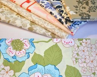 Secret Garden Sandi Henderson Michael Miller quilt fabric  1 yard & 1/2 yard combo - out of print -  hard to find -  PLEASE READ DESCRIPTION
