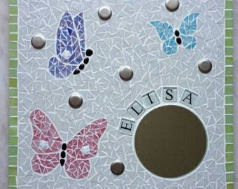 Tableau mosaïque décoration enfant