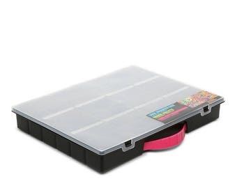 Large Plastic Craft Organizer Case
