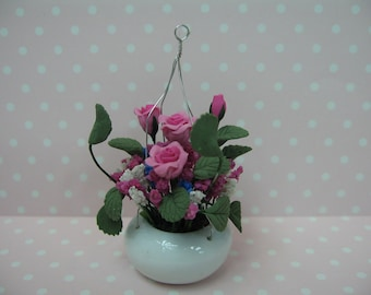 Miniature Flower Hanging Pot
