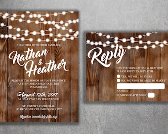 Wedding Invitations Etsy - Wedding invitation templates: vietnamese wedding invitation template