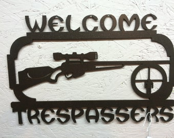 Welcome Trespassers