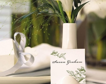6 Place Card Holders, Bud Vases, Vase Place Card Holders, Wedding Place Card Holders, Favor Vases, Placecard Holder, Bud Vases, Card Holder