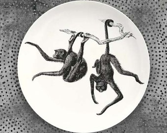 Monkeys, Spider Monkeys plate