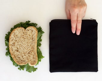 Sandwich bag reusable Reusable snack bags Reusable sandwich bags Quebec Eco - friendly eco-friendly Zero waste in a reusable ziploc bag