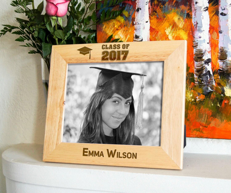 Personalized engraved frame, Custom photo frame, Graduation frame ...