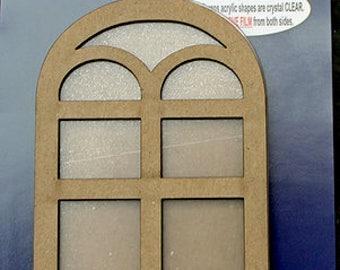 Clear Scraps - Shakers - Window