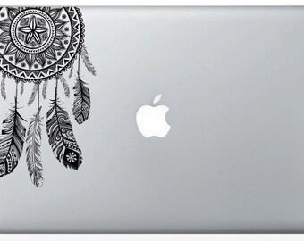 Autocollant dreamcatcher MacBook