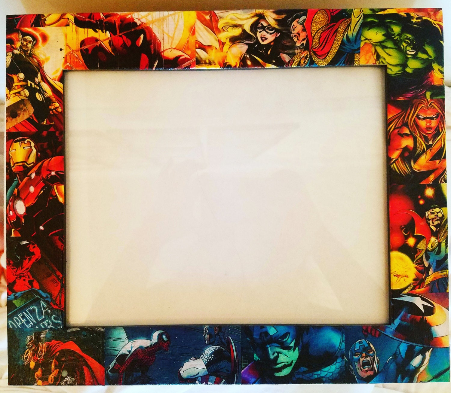 Marvel Comics Picture Frame. Made to Order. Doctor Strange, Ms ...