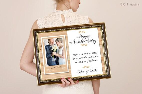 Th anniversary gifts parents anniversary gift anniversary
