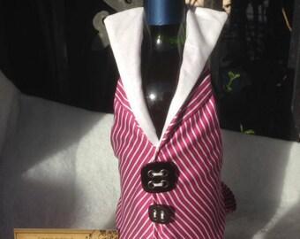Bottle warmer vest / decorative bottle gift idea for holidays..,.