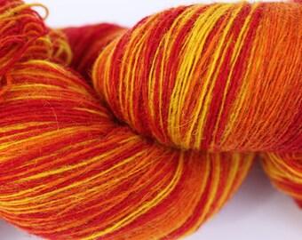 KAUNI Estonian Artistic Wool Yarn Flame  8/1, Art Wool  Yarn for Knitting, Crochet