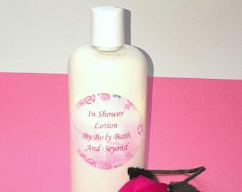In Shower Lotion / In Shower Moisturizer / Body Conditioner / Wet Skin Lotion / Wet Skin Moisturizer / Shower Lotion / Body Lotion