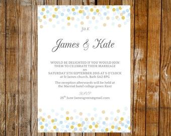 Hochzeit Einladung Vorlage eleganten Wirbel lila DOWNLOAD