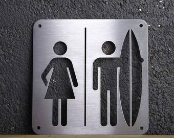 "ICONIC ""Surf Men couple"" plate"