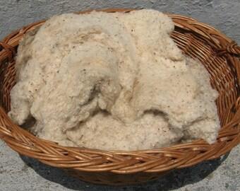 vintage cotton batting natural over 5 ounces primitive country rustic folk art craft supplies
