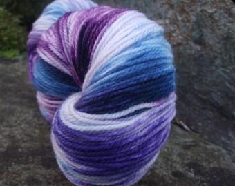 Handpainted sock yarn, fingering yarn, Superwash Merino  Nylon, 100 grams-Bumbleberry