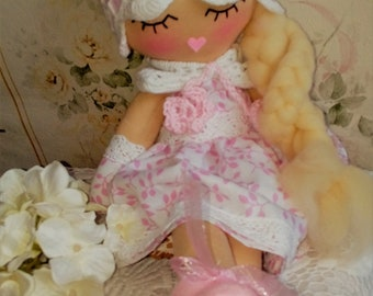 doll - soft doll - handmade doll - toys