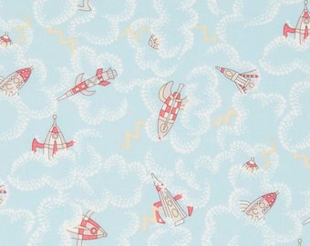 Rocket Dance Liberty of London Fabric - Tana Lawn Cotton