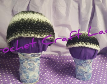 Black and White Winter Hats