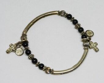 Lovely charm stretchable bracelet