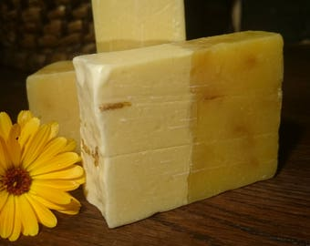 Calendula Soap handmade vegan natural