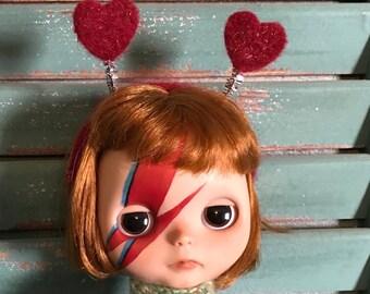 Red Valentine Heart Headband