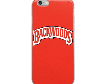 Backwoods Red iPhone Case