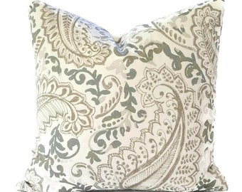 Pillows Pillow Covers Decorative Pillows ANY SIZE Pillow Cover Premier Prints Shannon Ecru