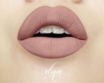 Loca Mocha-DNA Liquid Lipstick- Matte- Handmade Cosmetics- Vegan Makeup