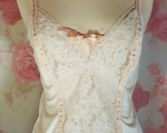 Camisole lace and nylon