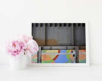 Colorful Under Bridge Fine Art Photo Print