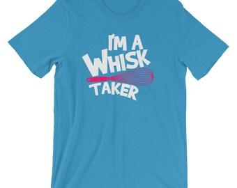 Funny Pink Whisk Taker Baker Baking Pastries Shirt